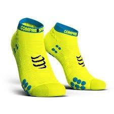 Compressport Pro Racing Socks V3.0 Run Lo Fluo Yellow