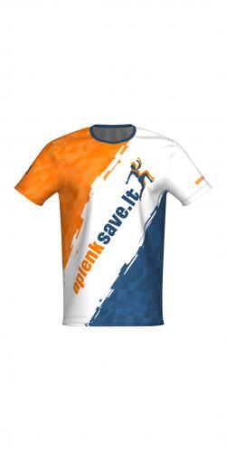 Bėgimo marškinėliai pagal individualų dizainą